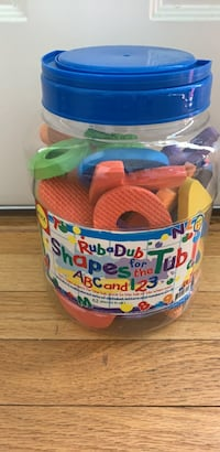 bath toys - building words playtime - alphabets Columbia, 21044
