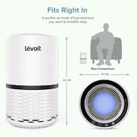 Levoit Air Purifier Chicago, 60640