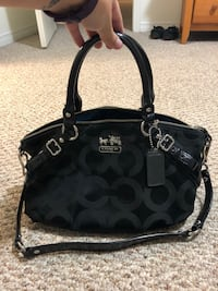 Authentic Black Coach Purse Pickering, L1V 2P8