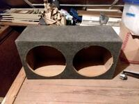 """Dual 12"""" subwoofer box Hagerstown"""