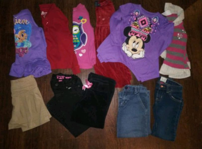 ***GIRL'S 4T-5T CLOTHING (24 PC.) COMBO DEAL!*** 3