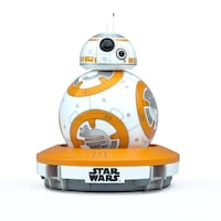 BB-8 Droid Star Wars Robot (B-8 App-Enabled Droid Built by Sphero little cell phone bb8)Star Wars BB8 toy 55 km
