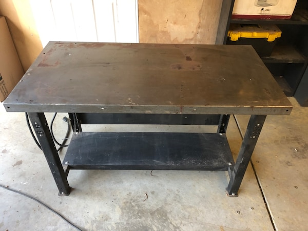 Welding Table For Sale >> Used All Steel Workbench Welding Table For Sale In Fair Oaks Letgo