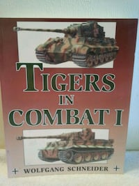 Tigers in Combat I Book Saint Helens, 97051