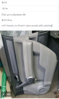 Crv door panels Allentown
