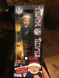 NFL Team elves doll box Washington, 20007