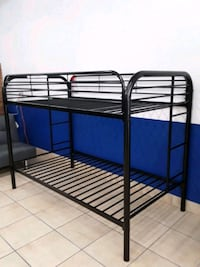 Brand New Black Twin Bunk Bed