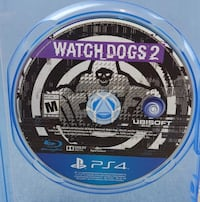 Watch dogs 2 ps4 game Chester, 23831