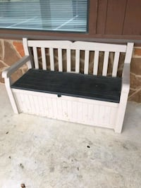 Plastic Storage Bench Dripping Springs