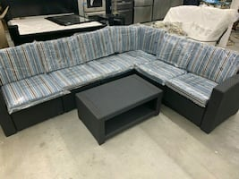 7 pc sectional patio set