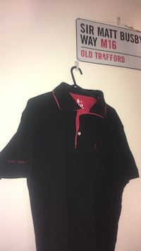 Black and red polo ralph lauren polo shirt Bridgwater, TA7 8AF