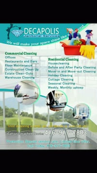 House cleaning Toronto, M4C 4J9