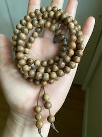Agar Woods beads 0.33inch $139 for necklace $49 for bracelet Annandale, 22003