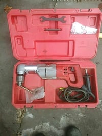 red and black corded power tool in case Upper Marlboro, 20772