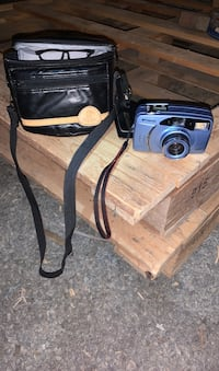 Camera with carring case