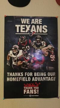 We Are Texans poster Bryan, 77802