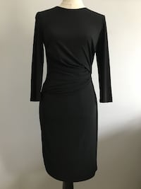 women's black long-sleeved dress Manassas
