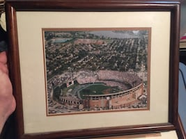Framed orioles stadium prints