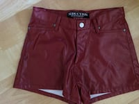 Seduction Short Shorts, red, Ladies size 7, European Fit, $10 Mississauga