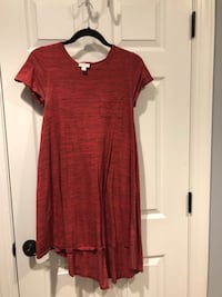 Red XXS LuLaRoe Carly Jefferson, 21755