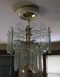 white and clear glass chandelier Middletown, 06457