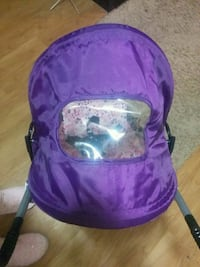 purple and white floral backpack 546 km