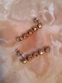 Rhinestone Earrings  Edmonton, T5W 2L5