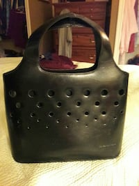 Black Leather Jones NY handbag