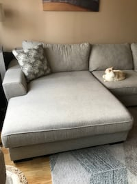 Delano 2 pc sectional with oversized chaise