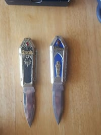 Dracula and the mummy collectable knives Bowie, 20720