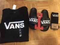 Mens Vans T-Shirt with Matching Sliders and Socks  Toronto, M5A 4P9