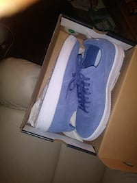 Air force ones size 11  fit like a size 10