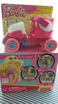 Adjustable Barbie skates by Fisher Price