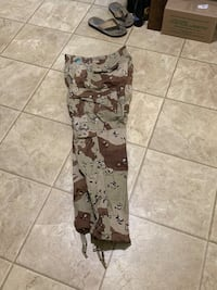 Military Desert Camouflage Pants New Small Regular  Milford, 45150