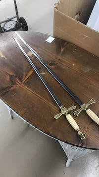 two white handle swords Rockville, 20850