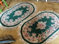 round white, red, and green floral area rug Greeley, 80631