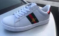 Gucci white bee sneakers  Brampton, L6R 2B9