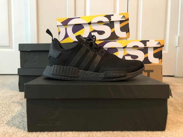017b0a72d Used NMD R1 limited triple black reflective for sale in Arlington ...