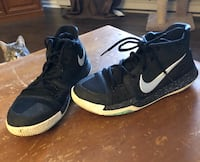 pair of black-and-white Nike basketball shoes Halifax, B3M 4M9