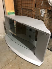 Silver TV stand Vancouver, V6B