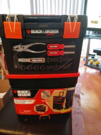 Black and Decker Junior Rolling Tool chest Mississauga, L5W 1L6