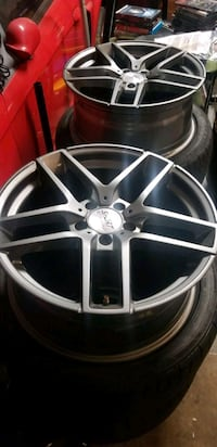 ST7 18x8 rims and Nitto 235/40ZR18 tires Silver Spring, 20905