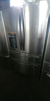 grey Whirlpool refrigerator Franklin Lakes, 07417