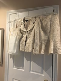 Jones New York suit and camisole, size 12, $75 Vaughan, L4J 4R8