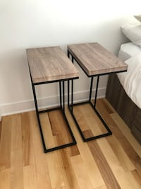 Side tables / Night tables / Tables de chevet (2) Montreal, H2K 0B2