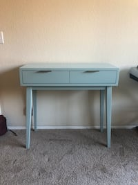 Modern desk -blue/eggshell color  San Diego, 92103