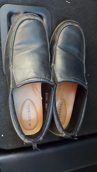 pair of black leather loafers Glen Burnie, 21060