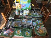 Party supplies Jungle Theme Severn, 21144