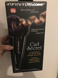 Infiniti by Conair curl secret box