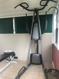 Black and gray elliptical trainer Woodbridge, 22193